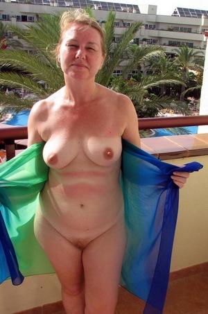 Aged women nude